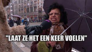 Heftig: Amsterdammers zien boze boeren op de Dam