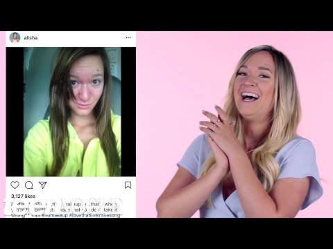 Alisha Marie Reacts to Her Old Instagram Photos | Teen Vogue