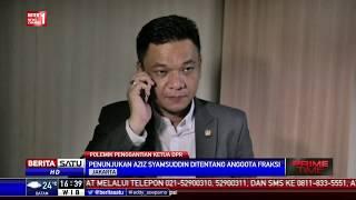 Penunjukan Aziz Syamsudin Sebagai Ketua DPR Ditentang Fraksi Golkar