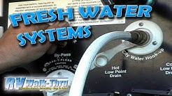 RV Walk-Thru: Water Systems - Learn how the water systems work on your RV.