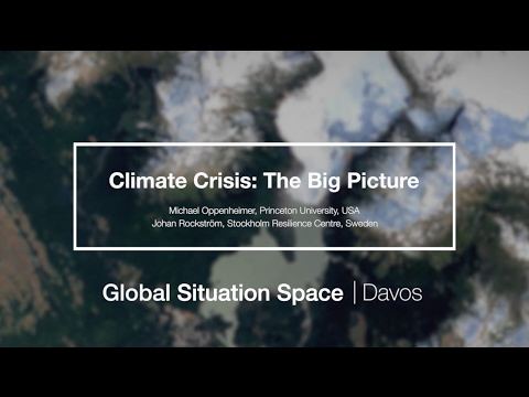 The Climate Crisis with Michael Oppenheimer and Johan Rockström