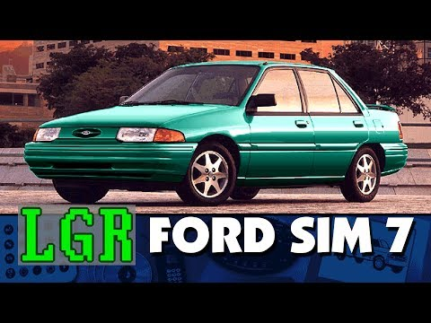 Ford Simulator 7.0 - 1996 Virtual Showroom CD-ROM