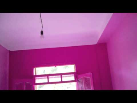 Decoration maison peinture d 39 une chambre youtube for Peinture decorative