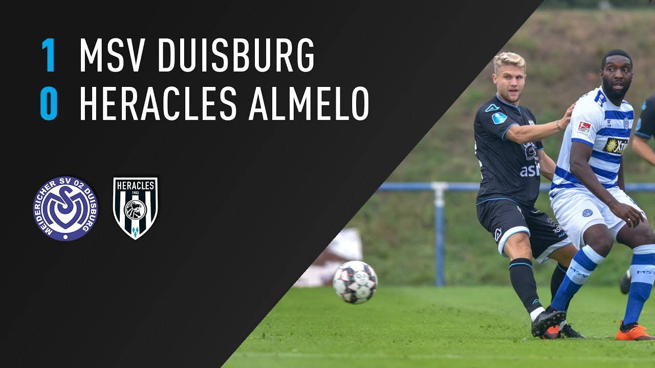 MSV Duisburg - Heracles Almelo | 06-09-2018 | Samenvatting
