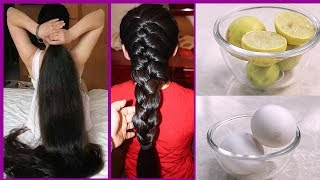 How To Grow Long Hair With Egg, Lemon, Honey | Hair Remedies | Latest Beauty Videos