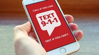 The Buzz: Text to 911 is Now Available