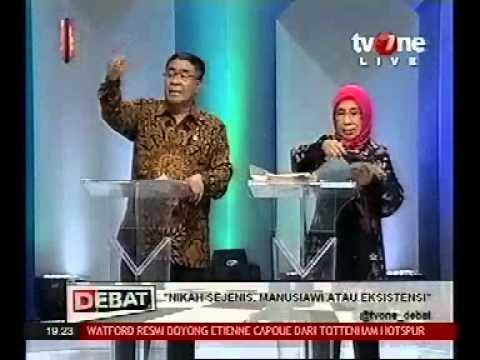 Debat TV One 6 Juli LGBT Jeremy teti