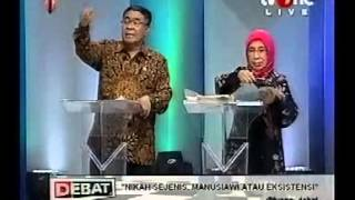 Debat TV One 6 Juli LGBT Jeremy teti