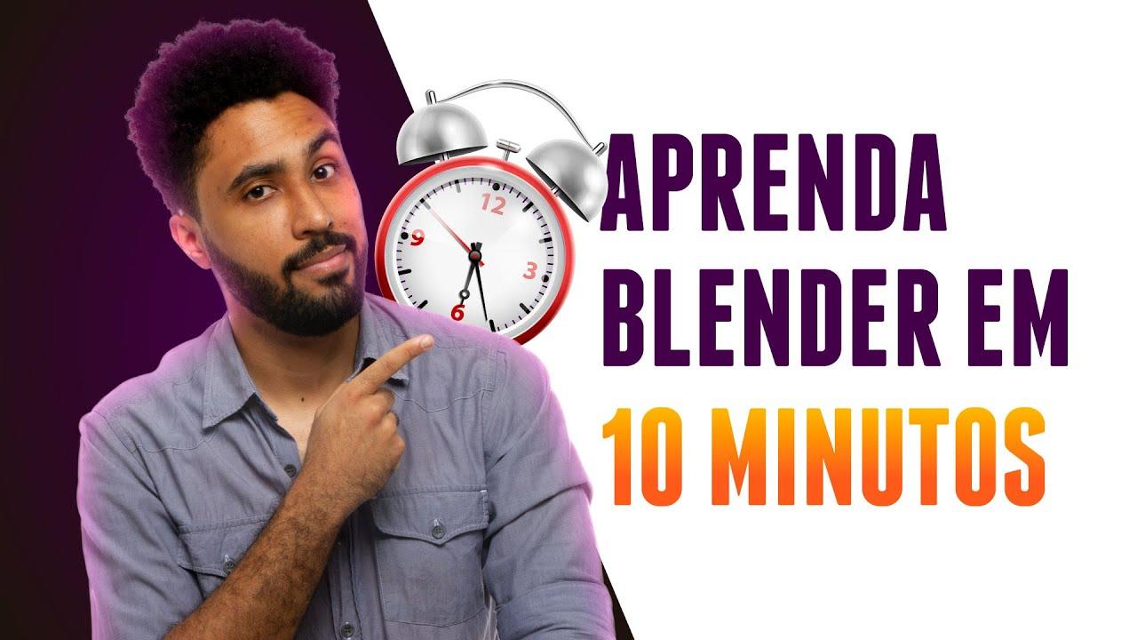 Download 😃Aprenda o BÁSICO do Blender em 10 MINUTOS - Curso Básico de Blender #1