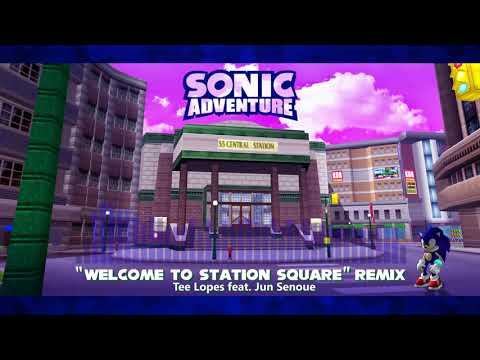 """Sonic Adventure Special Remix - """"Welcome To Station Square"""""""