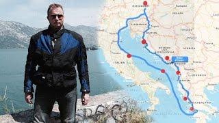 Motorradtour nach Griechenland 2016