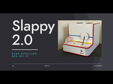 Slappy 2.0: An improved device that scores a mini-goal each time a goal is scored in an NHL game