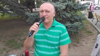 Танцы на Приморском бульваре   Севастополь 17.10.19 День гимна Севастополя   Певец Сергей Соков L VE