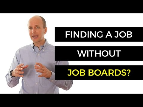 Need A Job Today? Find A Job Without Using A Job Board!