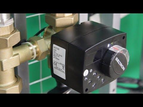 Отопление дома Насосный модуль из нержавеющей стали на 2 контура с автоматикой Насосные группы