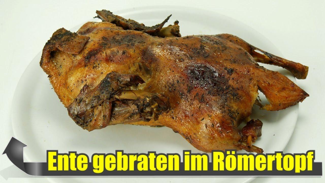 Rezept Ente Im Römertopf