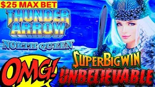 Thunder Arrow Slot Machine Max Bet Bonuses & HUGE WINS - FANTASTIC SESSION | High Limit Slot Play