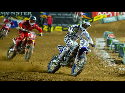 Reed, Dungey battle for podium contention in Phoenix - Monster Energy Supercross 2017