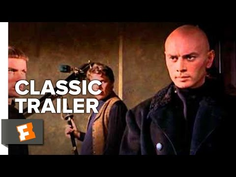 The Brothers Karamazov (1958) Official Trailer - Yul Brynner, Maria Schell Movie HD