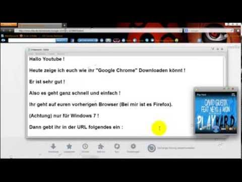 Kostenlos Google Chrome Download [German]