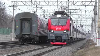 Электровозы ЭП20-040 и ЭП20-023