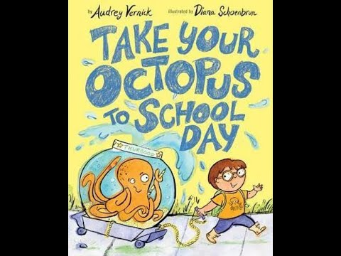 """""""Take Your Octopus to School Day"""" read by Cliffwood Elementary School Principal Mr. Van Horn"""