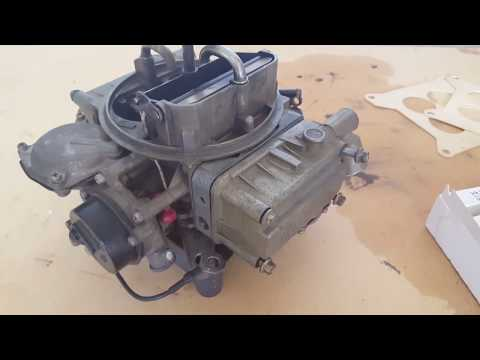 OMC Cobra Holley Marine Carburetor Rebuild