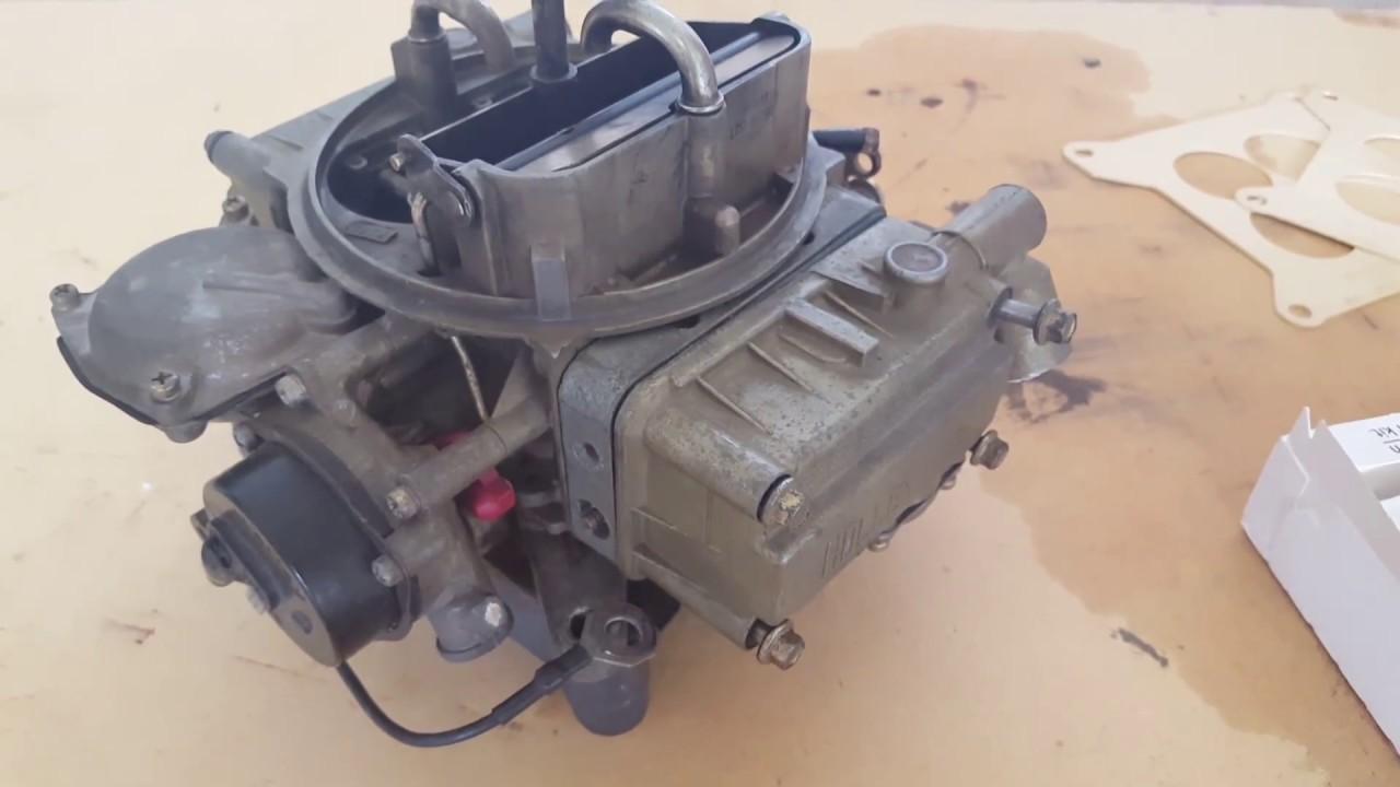 OMC Cobra Volvo Penta SX Holley Marine Carburetor Rebuild