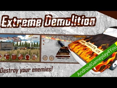 Extreme Demolition BETA Android Gameplay Part 2 [Game For Kids]