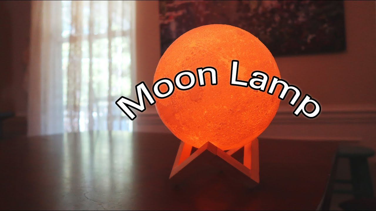 MOON LIGHT MOON LAMP LED STUNNING 3D ART USB RECHARGEABLE LUNAR 👈