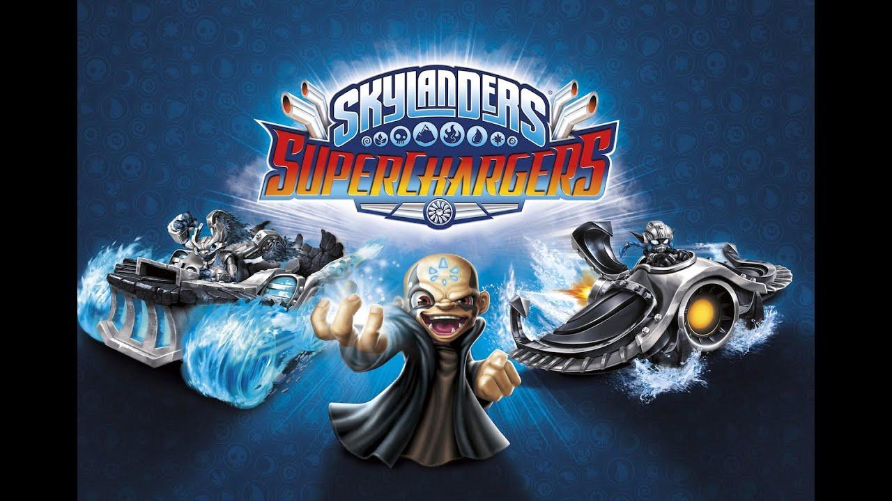 Skylanders superchargers dark edition gameplay kaos
