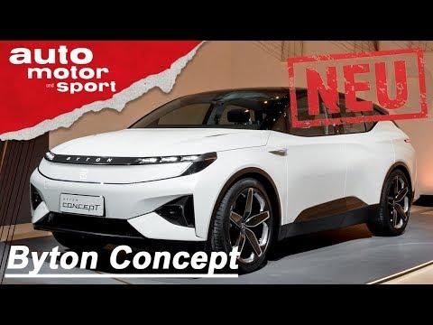 Byton Concept (2018): Tesla adé?! - Neuvorstellung/Review/Sitzprobe | auto motor & sport