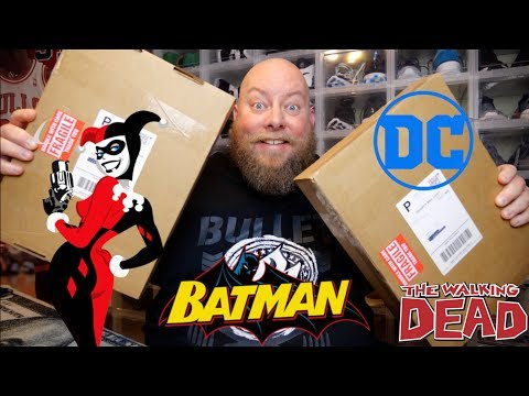 Unboxing 2 $100 Comic Book Mystery Boxes from ToyUSA + I HIT A POTENTIAL $1000 COMIC BOOK