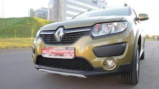 Renault Sandero Stepway новый двигатель 1.6 бензин 113 л.с. тест-драйв Автопанорама
