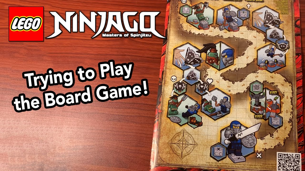 Trying to Learn How to Play the Ninjago Season 13 Board Game – New Summer 2020 Ninjago Sets