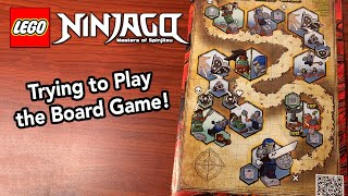 Trying to Learn How to Play the Ninjago Season 13 Board Game - New Summer 2020 Ninjago Sets