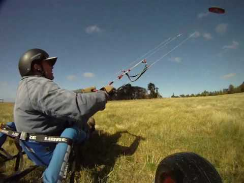 How to mount your GoPro to a kitebuggy