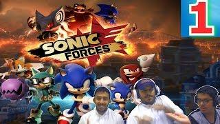 تختيم Sonic Forces مع عيال أختي | حلم أيق مان يتحقق بصنع شخصية قوية [ 1 ]