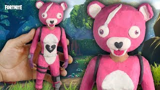 "CUDDLE l FORTNITE BATTLE ROYALE l ""TUTORIAL"" ✔POLYMER CLAY ✔COLD PORCELAIN"