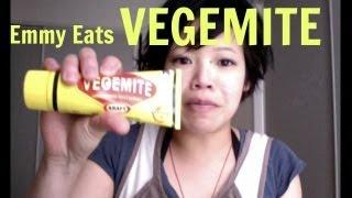 Emmy Eats Vegemite - Whatcha Eating? #63