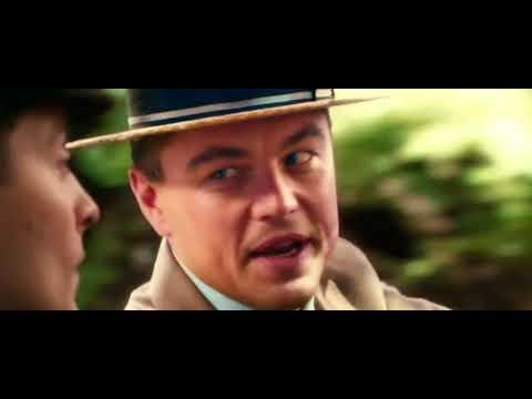 Nick and Gatsby Car Scene
