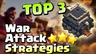 TOP 3 TH9 Attack Strategies Clash of Clans