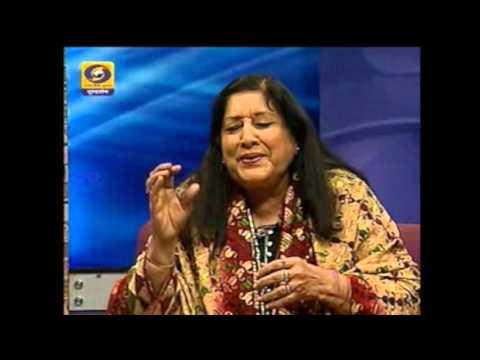 Pamela Singh on Malika Pukhraj and Begum Akhtar  DD National
