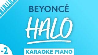Beyoncé - Halo (Karaoke Piano) Lower Key