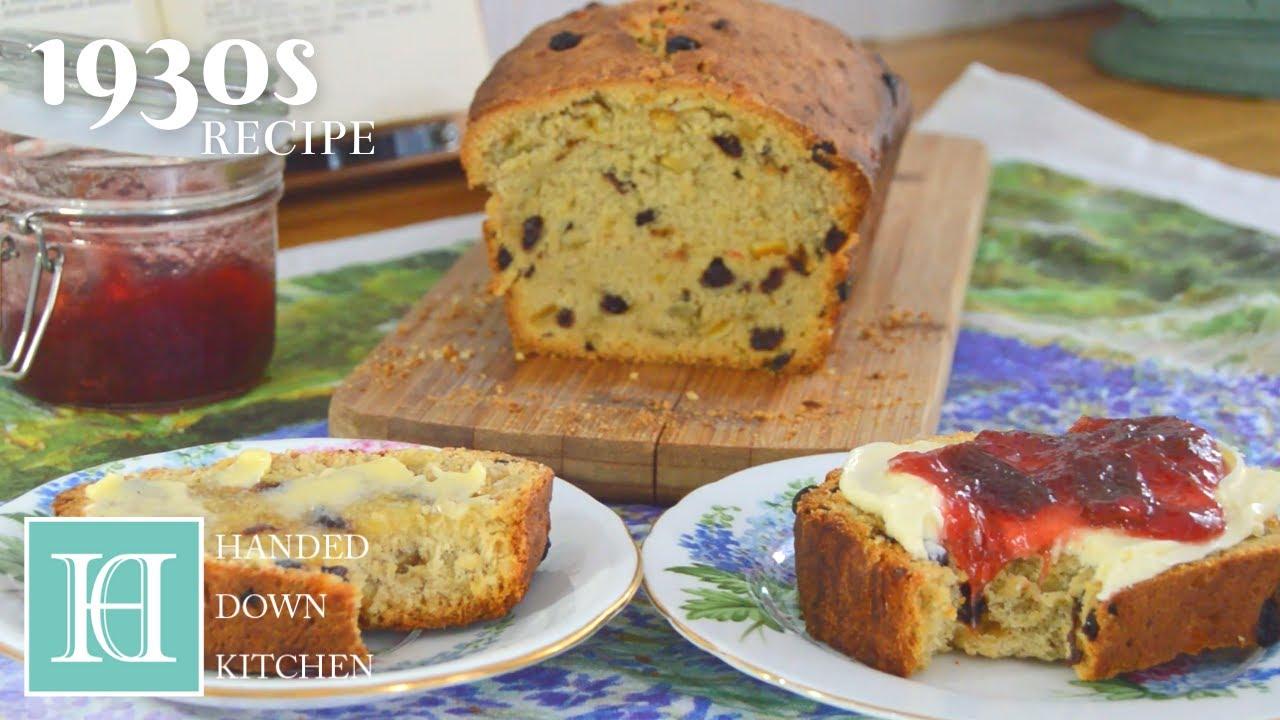 Cornish Saffron Cake (Tezan Saffern) ◆ 1930s Recipe