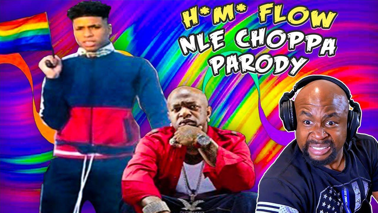 H*m* Flow   NLE Choppa Parody REACTION