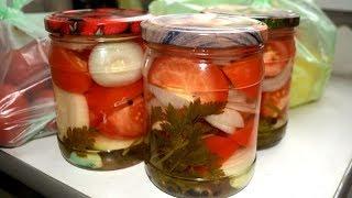 Салат из помидоров на зиму лучший рецепт
