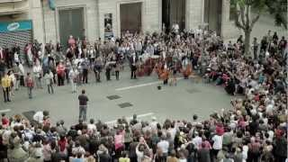 flashmob flash mob ode an die freude ode to joy beethoven symphony no9 classical music