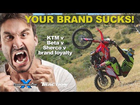 KTM v BETA v SHERCO v GAS GAS v BRAND LOYALTY vlog #252