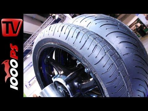 Michelin Pilot Road 4 - Motorradreifen 2014